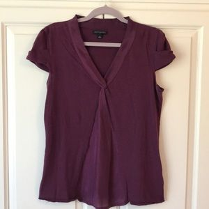 Wine Color Twisted Top